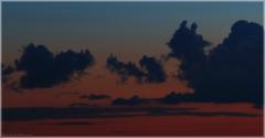 Облака - ушастые существа. Как снимать закат зеркалкой
