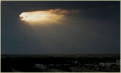 Закаты солнца. Дыра в небе