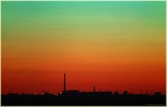 Закат солнца. Фото высокого разрешения