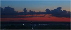 Небо, облака, после заката. Как снимать закат зеркалкой