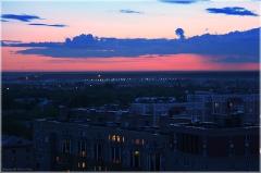 Облака после заката. Фото. Как снимать закат зеркалкой