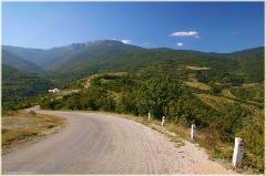 Крымские горы. Фотографии горных пейзажей. Дорога на водопад Джур-Джур