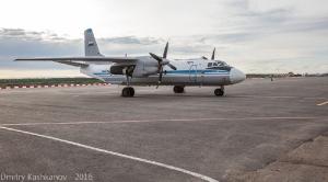 Самолет Ан-26 в аэропорту Нижнего Новгорода. Фото