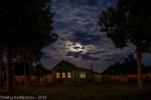 Лунная ночь в Суздале. Фото