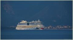 Фотография океанского лайнера. Порт Мармарис. Турция