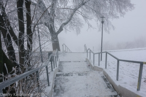 Спуск в туман