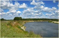 Река Сура. Село Медяны. Самые красивые фото лета 2011