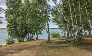 Летний день в парке Якоби. Иркутское водохранилище