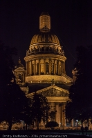 Исаакиевский собор. Ночное фото