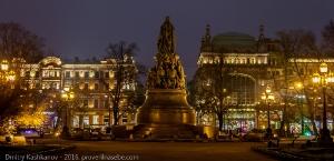 Памятник Екатерине Великой. Санкт-Петербург
