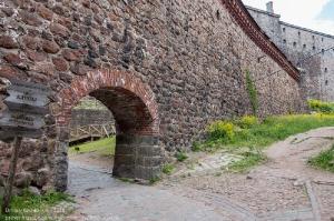Выборгский замок. Арка. Вход во внутренний двор замка