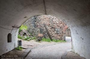 Выборгский замок. Вход. Арка во внешней крепостной стене