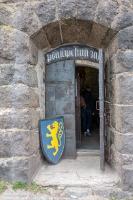 Выборгский замок. Вход в рыцарский зал
