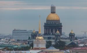 Исеекиевский собор и Адмиралтейство. Фото