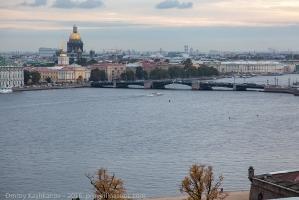 Фото вечернего Санкт-Петербурга