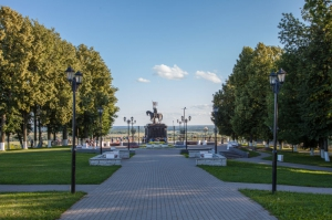 Парк Пушкина во Владимире. Фото 2015 г.