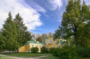 Музей Пушкина. Господский дом. Село Большое Болдино