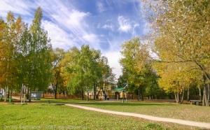 Болдинская осень. Вход в музей А.С.Пушкина