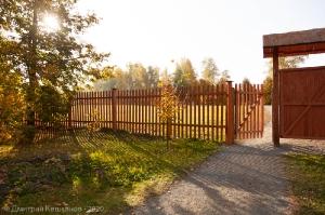 Ограда усадьбы Пушкиных в Болдино