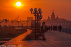Вечернее фото  на Нижне-Волжской набережной