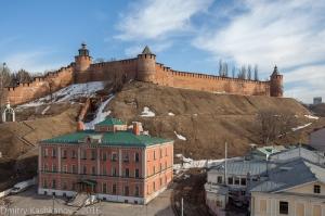 Нижегородский Кремль. Фото с крыши