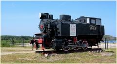 Маленький паровоз. Фото. Музей паровозов в Нижнем Новгороде