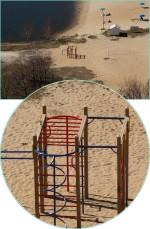 спортивный комплекс на пляже