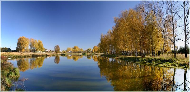 Фото осенний пейзаж в высоком разрешении 6
